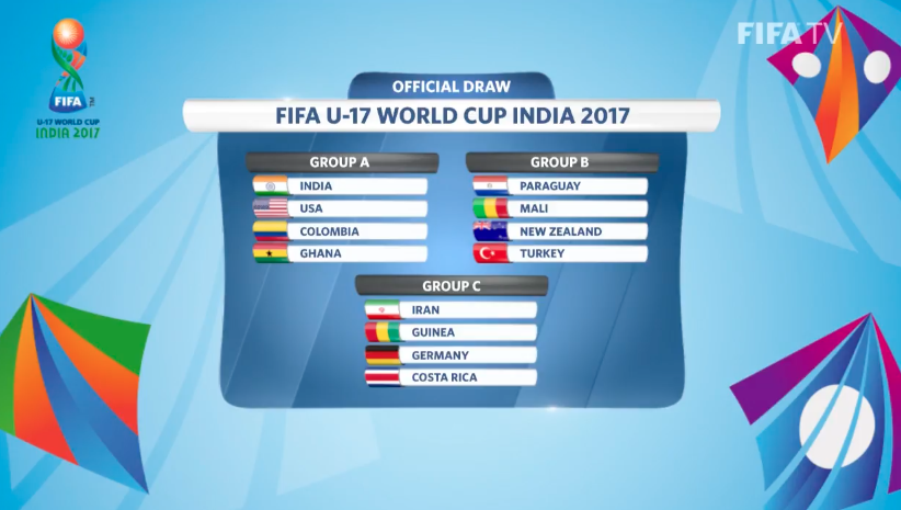 Chile tendrá complicados rivales en el Mundial sub 17